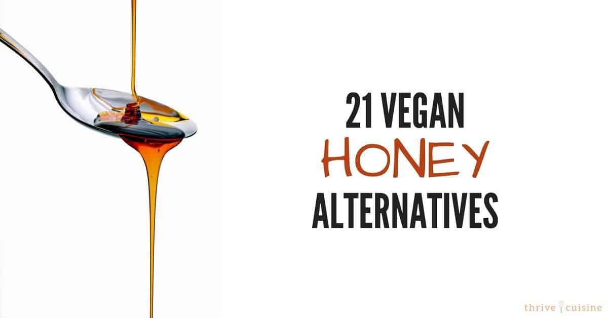 21 vegan honey alternatives