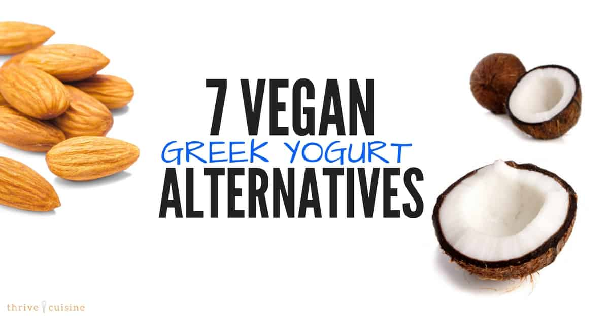is greek yogurt vegan and dairy-free alternatives