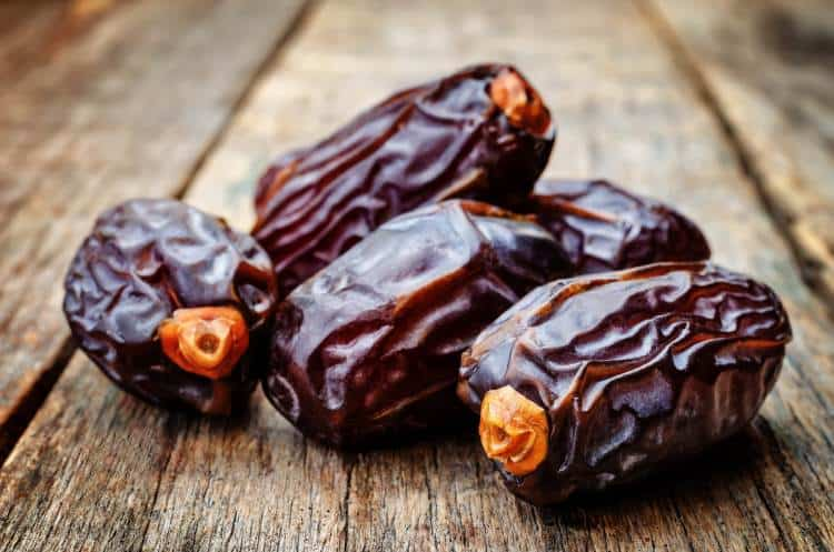 Medjool dates looking plump and delicious