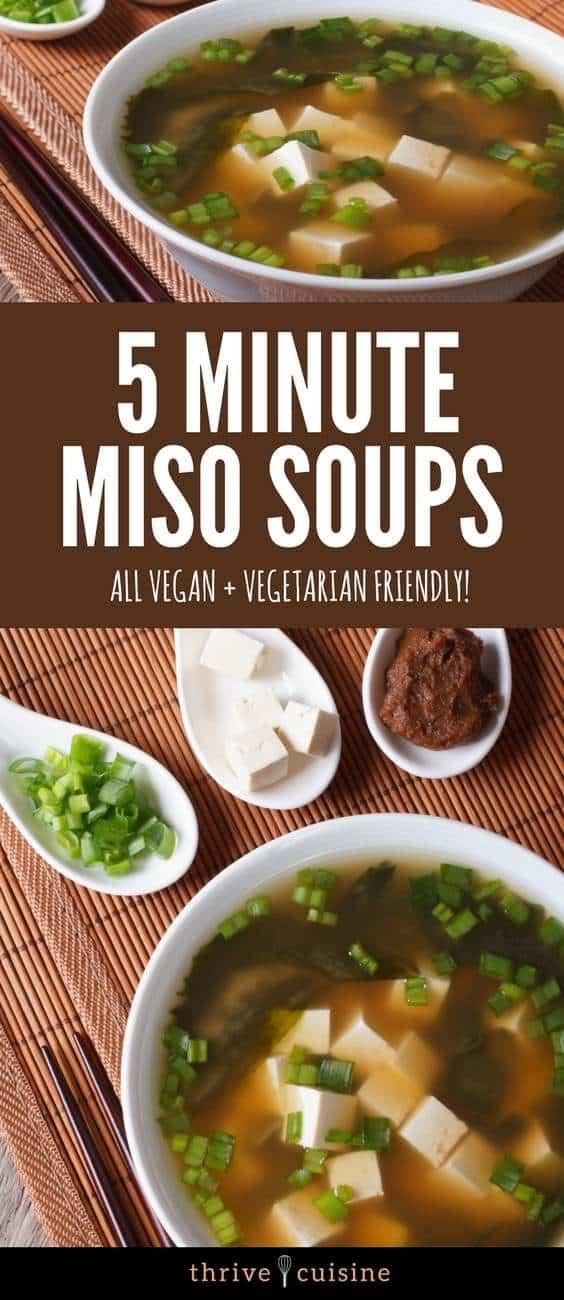 vegan miso soup banner image
