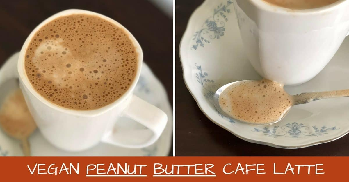 vegan peanut butter cafe latte pictures