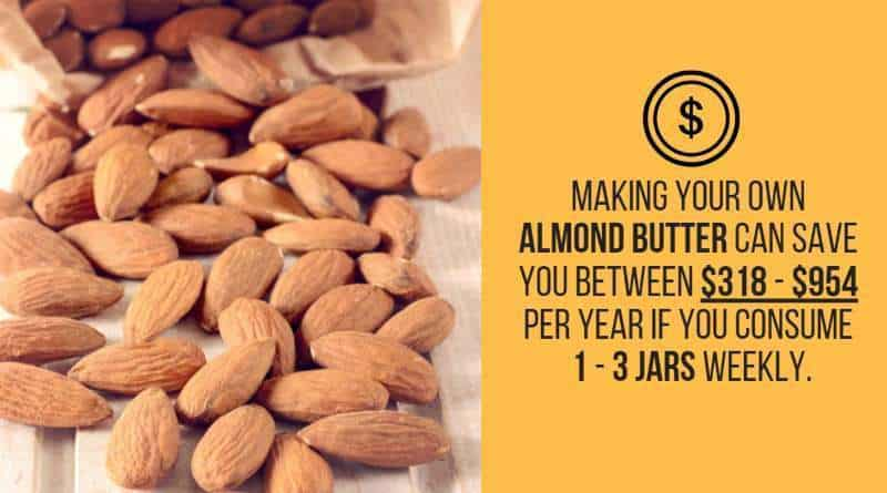 almond butter cost savings