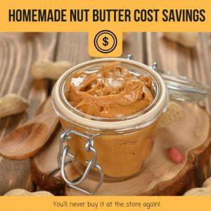 nut butter cost savings