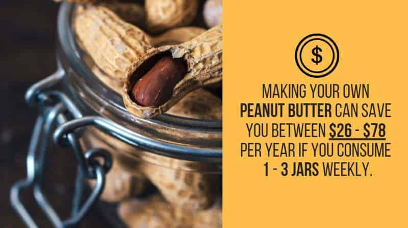 peanut butter savings