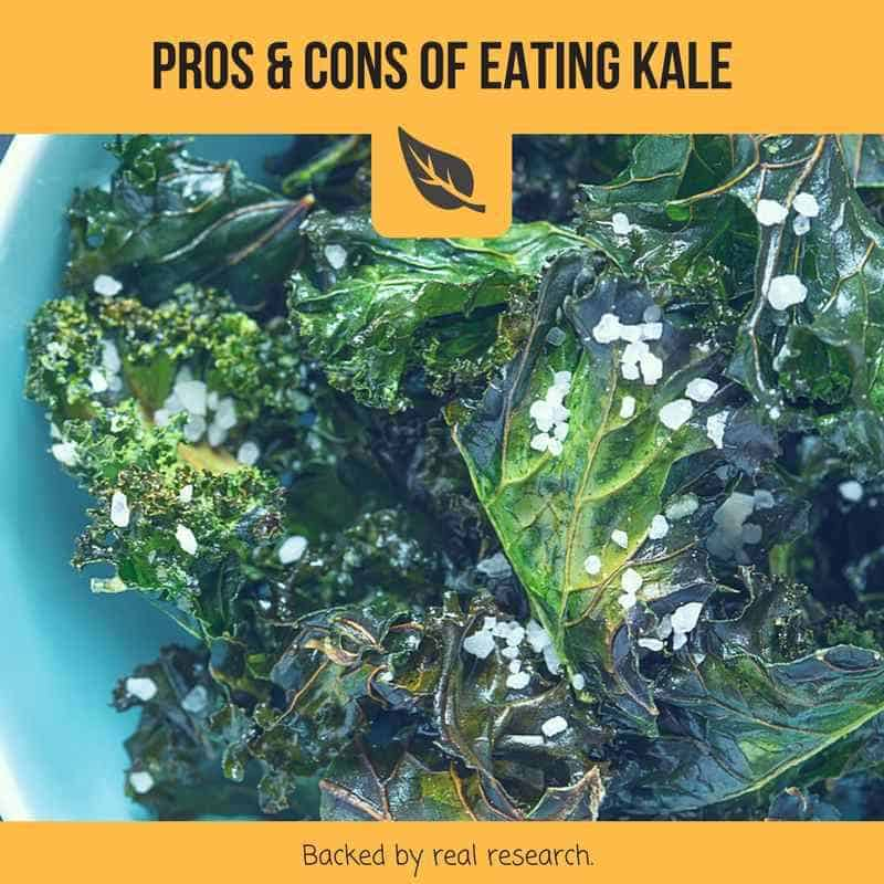 pros and cons of eating kale