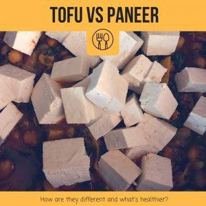 tofu vs paneer