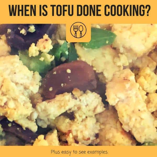 when is tofu done cooking