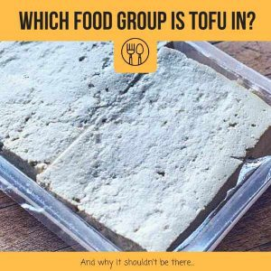 which food group does tofu belong to