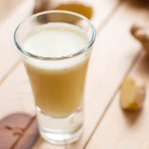 ginger shots without a juicer