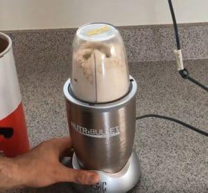 grinding oats in the nutribullet