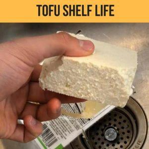 tofu shelf life