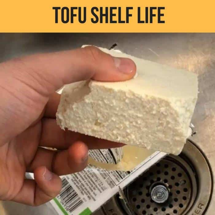 tofu shelf life