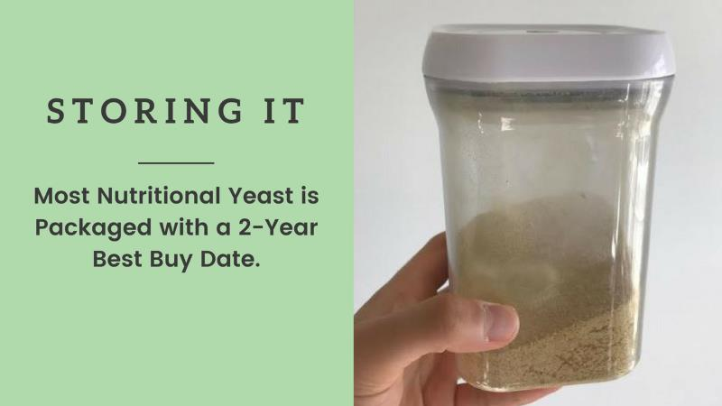 how to store nutritional yeast