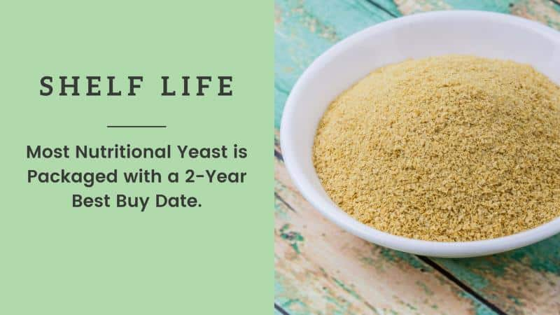 nutritional yeast shelf life