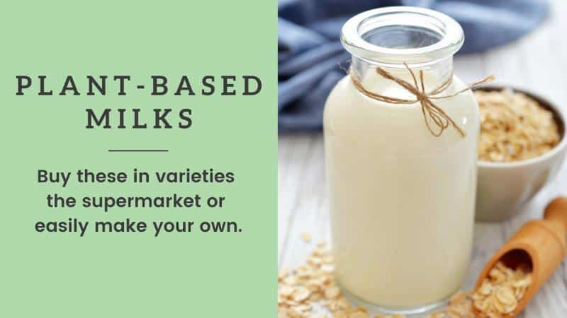 plant based milk tips