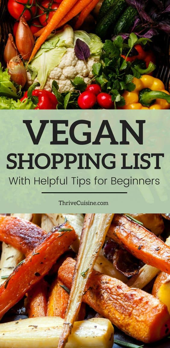 Vegan Grocery List | Vegan Shopping List | Vegan Tips for Beginners | Vegan Tips and Tricks | Vegan Meal Planning | Vegan Shopping List Budget