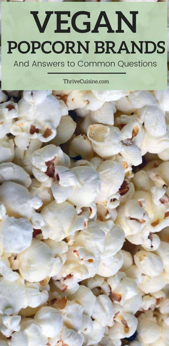 Best Microwave Vegan Popcorn Brands - 2019