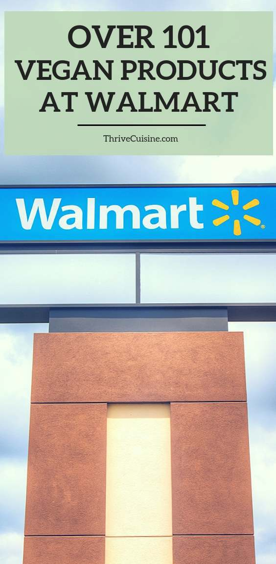 101 vegan products and brands at walmart