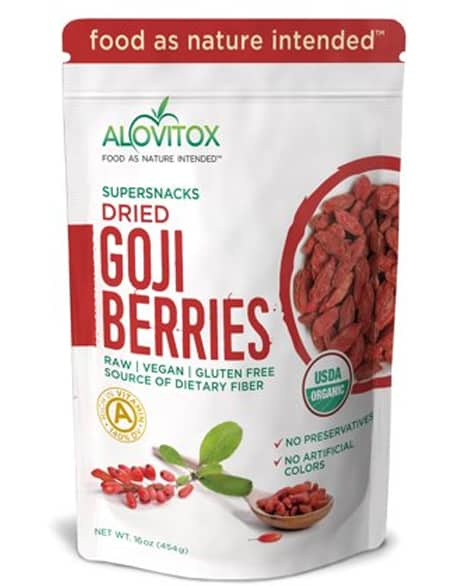 Alovitox Natural Dried Whole Raw Fruit