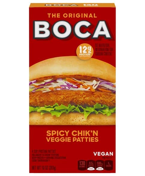 Boca Spicy Chik'n Veggie Patties