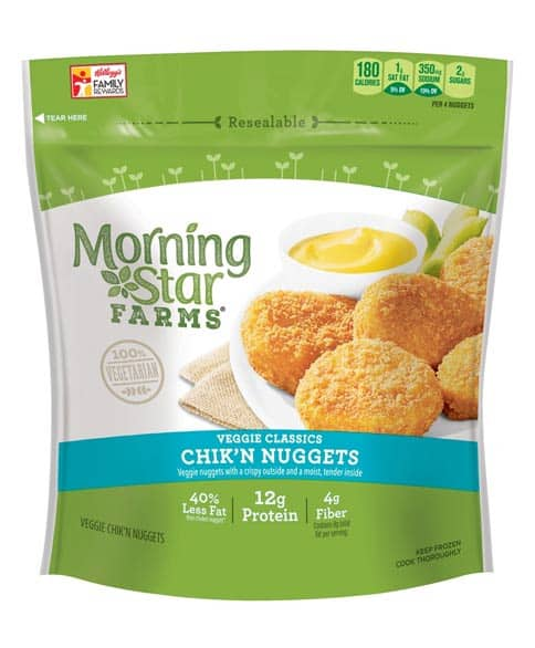 MorningStar Farms Classic Veggie Chik'n Nuggets