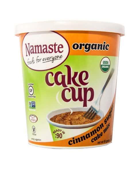 Namaste Foods Cinnamon Sugar Cake Cup