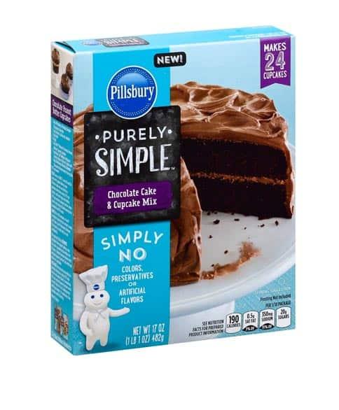 Pillsbury Chocolate Cakes Mix