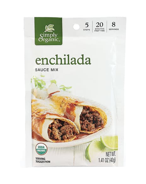Simply Organic Enchilada Sauce Mix