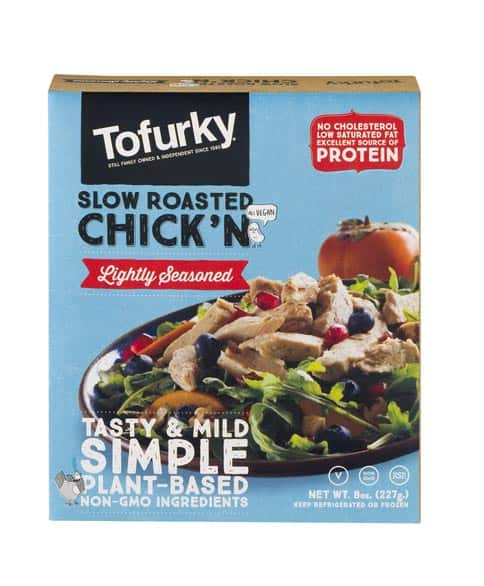 Tofurky Slow Roasted Chick N Lightly Seasoned