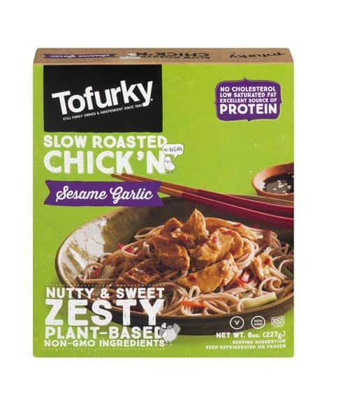 Tofurky Slow Roasted Chick N Sesame Garlic