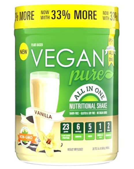 Vegan Pure Plant Protein Powder