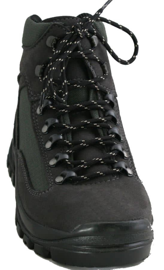 WATER RESISTANT BLACK TIBET HIKING AND WALKING BOOTS BY ETHICAL WARES UNISEX