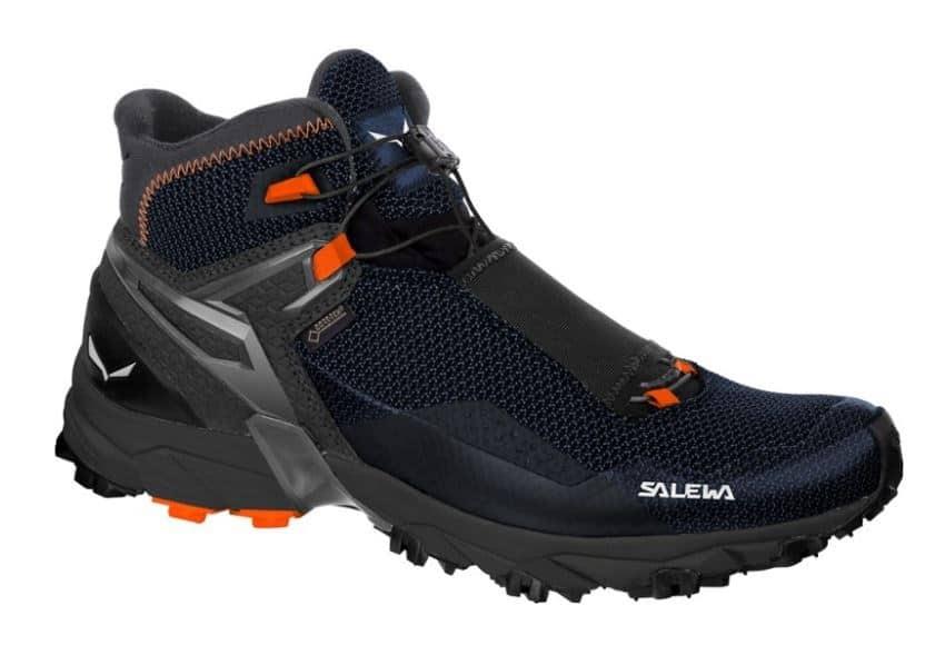 WATERPROOF BLACK HOLLAND BLUE SALEWA ULTRA FLEX MID GTX HIKING BOOTS