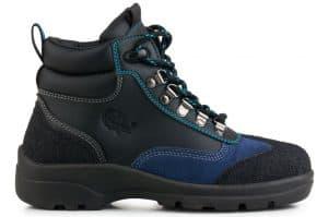 Water Resistant Black/Blue Eco-Vegan All Terrain Pro Hiker (Men's and Women's)