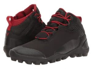 Water Resistant Black/Red Vivobarefoot Hiking Boots Soft Ground (Men's)