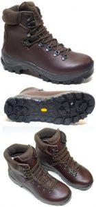 Water Resistant Brown Veggie Trekker MK 5 Vegan Hiking Boots (Men's and Women's)