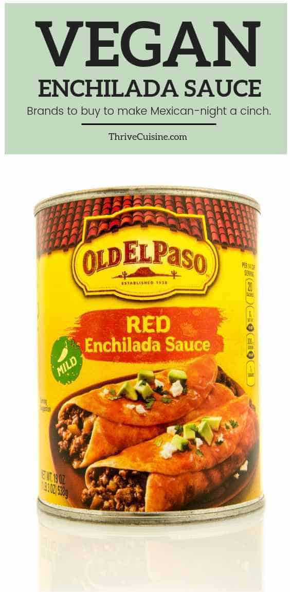 vegan enchilada sauce brands