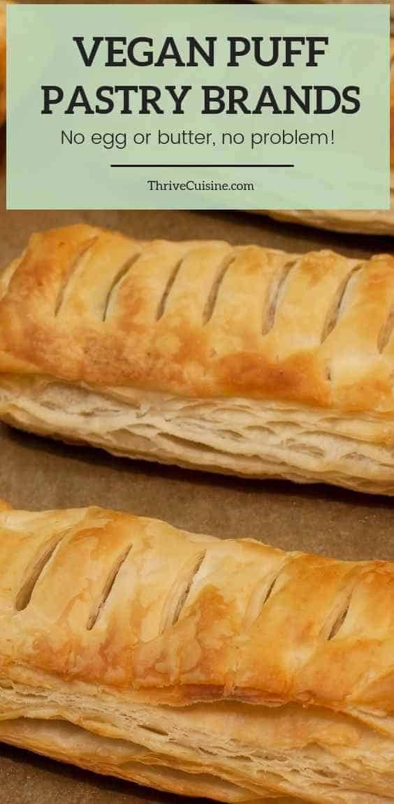 vegan puff pastry brands