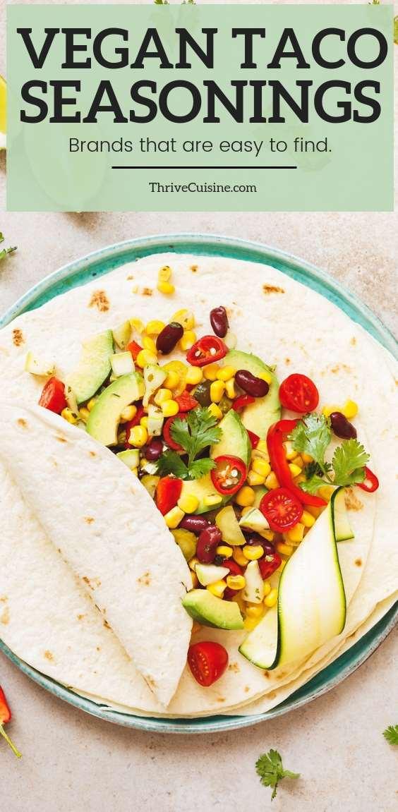 vegan taco seasoning brands