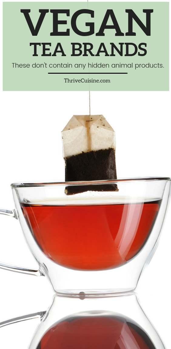 vegan tea brands and faq