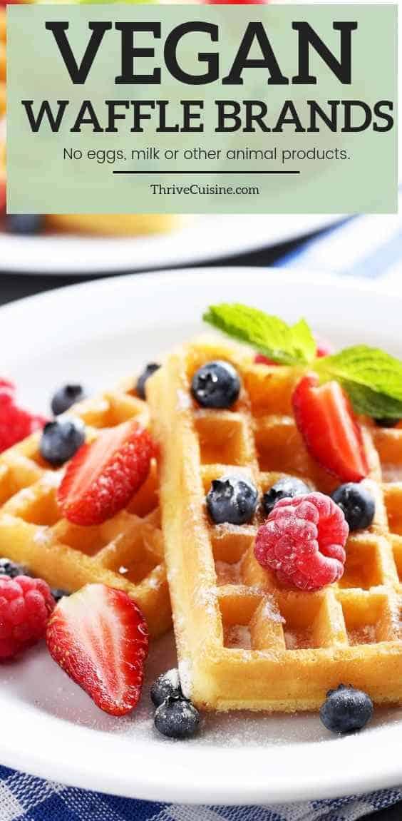 Top Vegan Frozen Waffle Brands for a Quick Breakfast