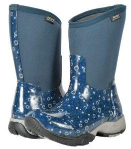 Blue Bogs Daisy Multi Flower Womens