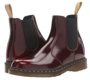 Cherry Red Cambridge Brush Dr Martens Chelsea Boot