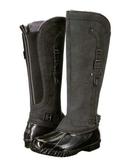 WOMENS BLACK COLORADO ENCORE TALL DUCK RAIN BOOTS BY JBU