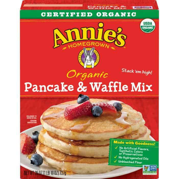 annies pancake and waffle mix