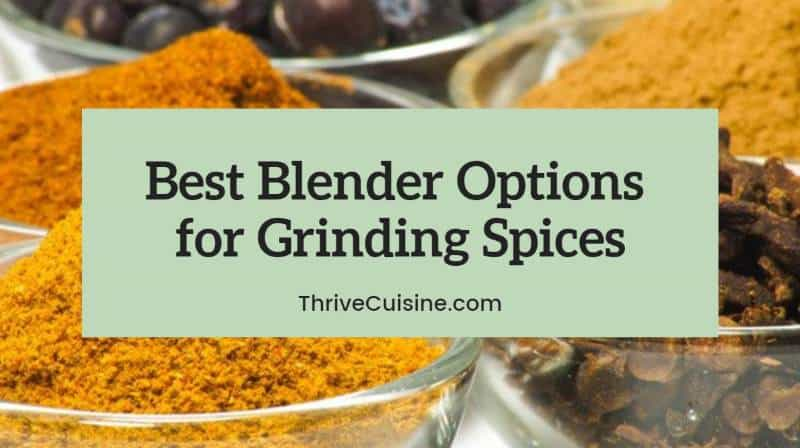 best blender for grinding spices