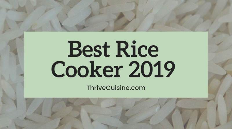 best rice cooker 2019