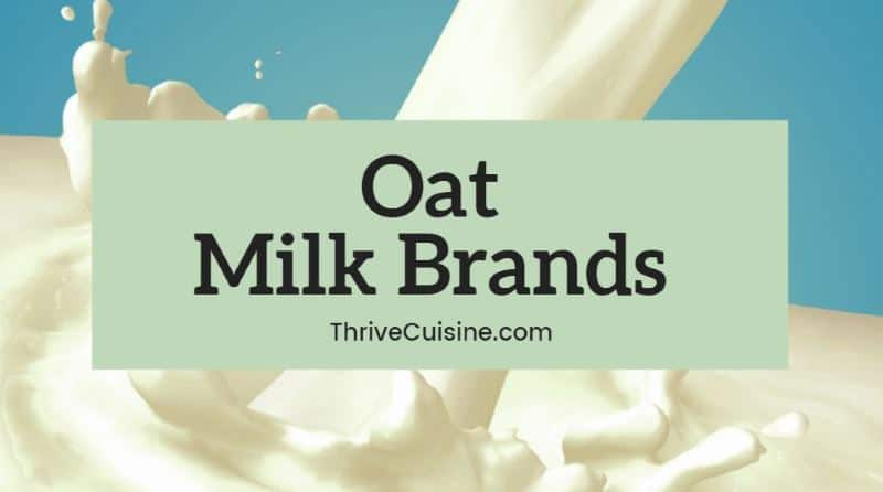 oat milk brands