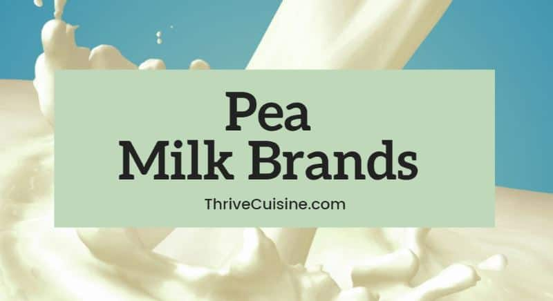pea milk brands