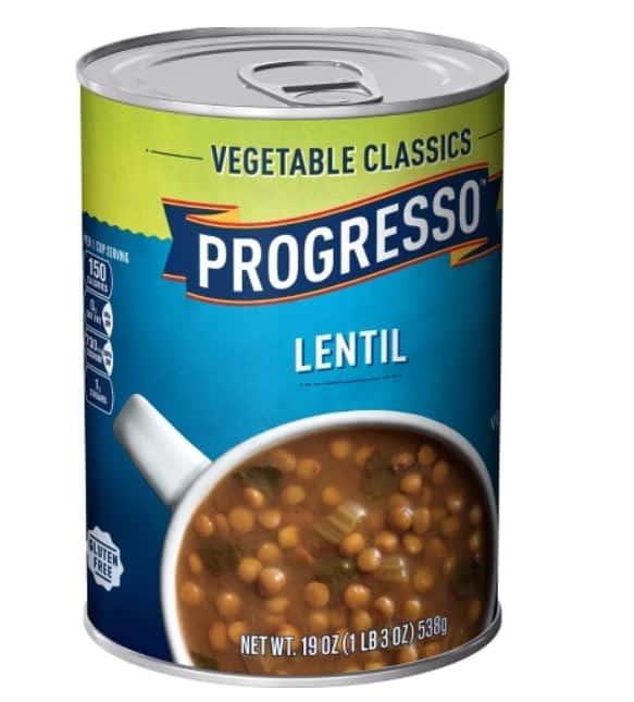 progresso lentil soup